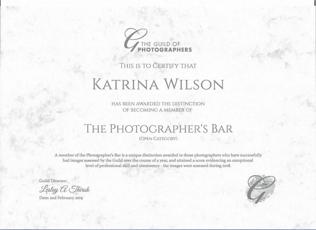 KWP - Guild Photographers Bar